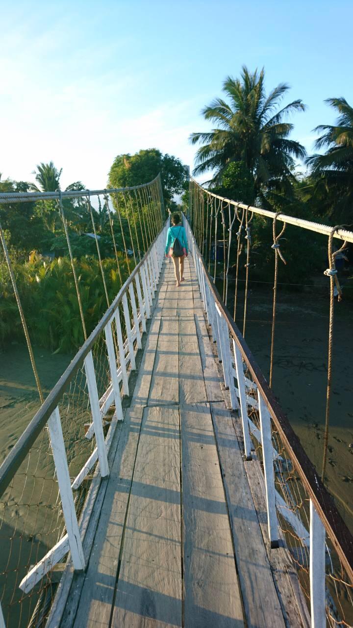 Baler Hanging Bridge