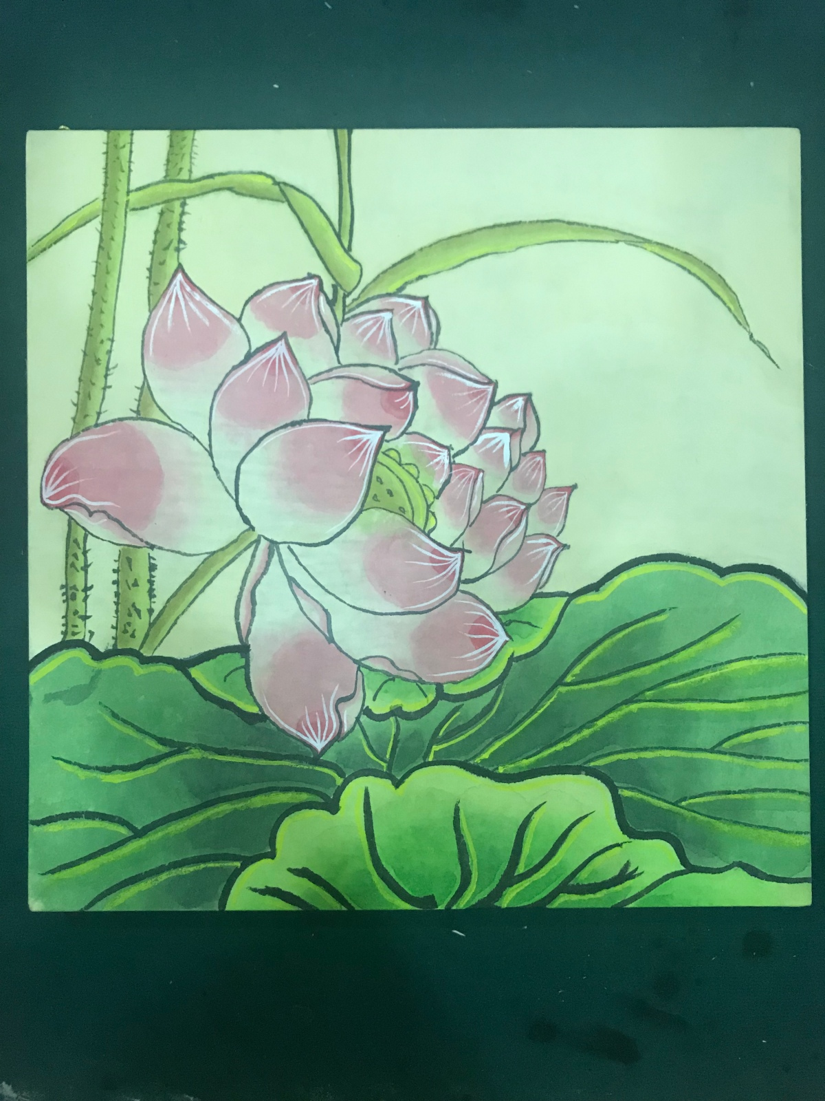 My first Minhwa painting
