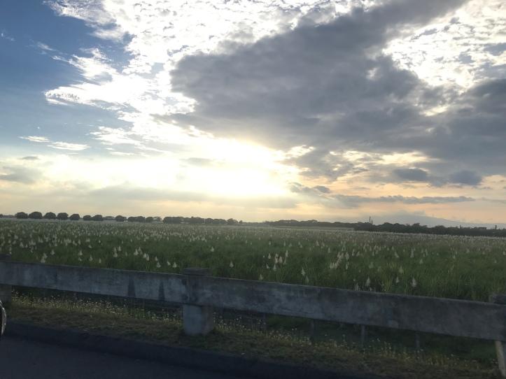 Sunset and homeward bound