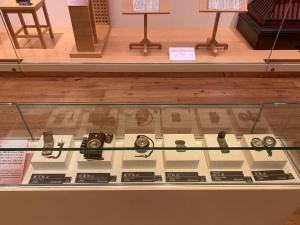 Vintage timepieces in Matsumoto Timepiece Museum