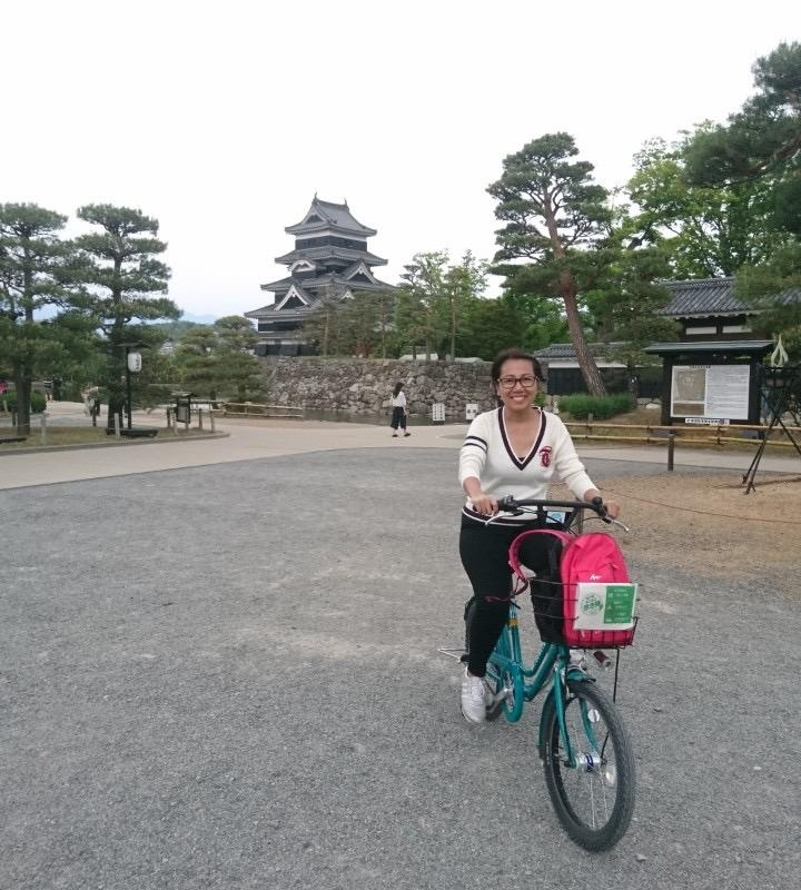 Free bike rental in Matsumoto