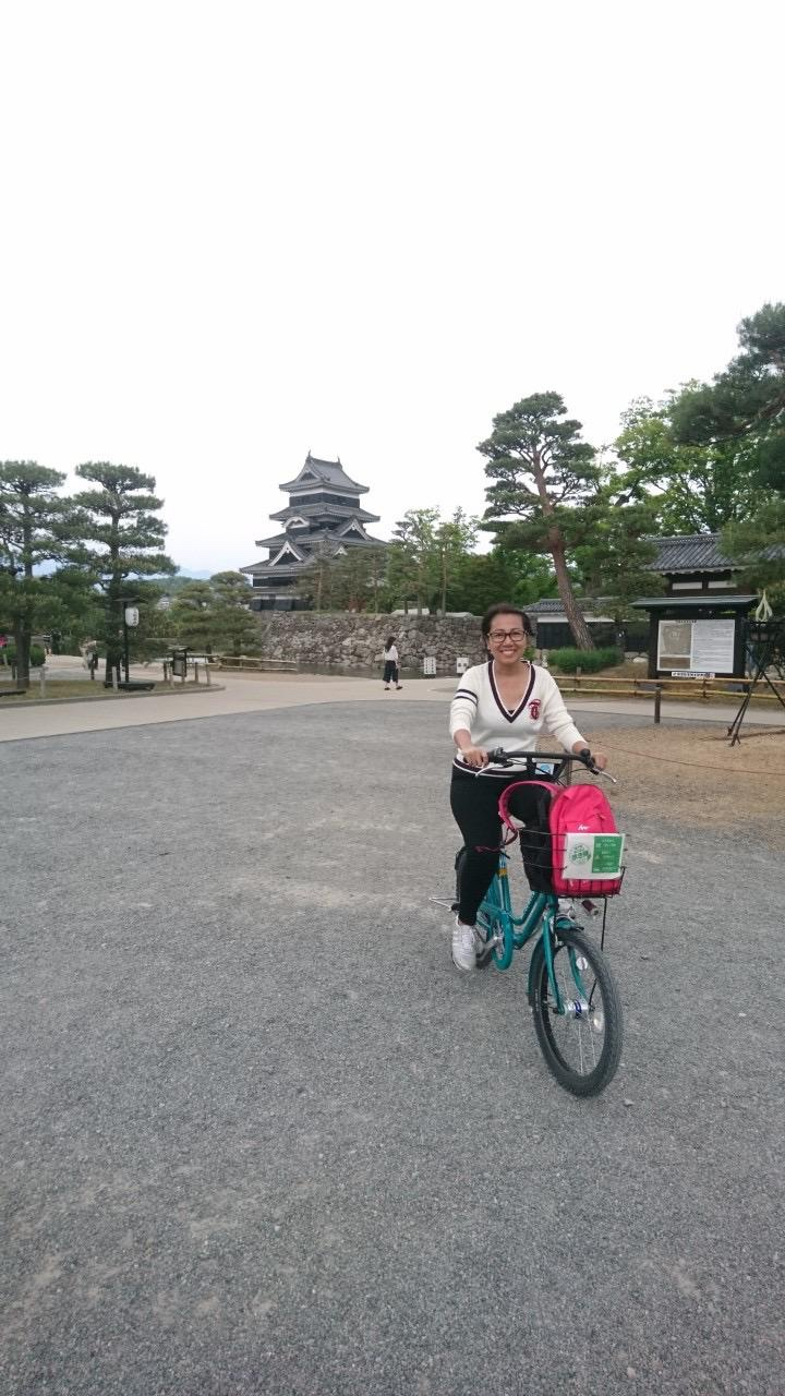 Free bike rental in Matsumoto