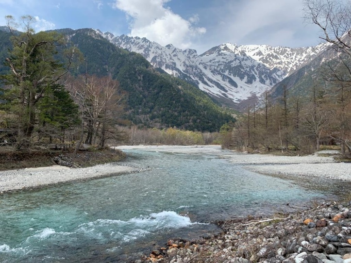 Clear waters of the Japan Alps