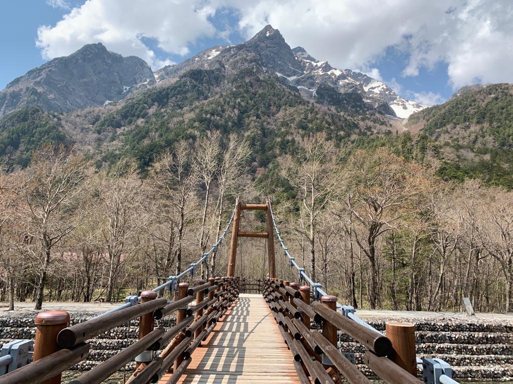 Myojin-bashi Bridge, Kamikochi