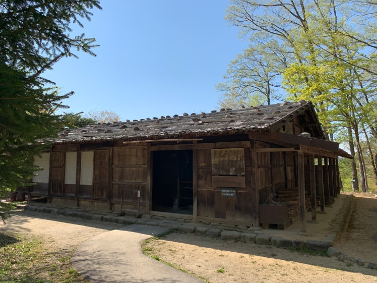 One of the Hida houses kept in its original condition
