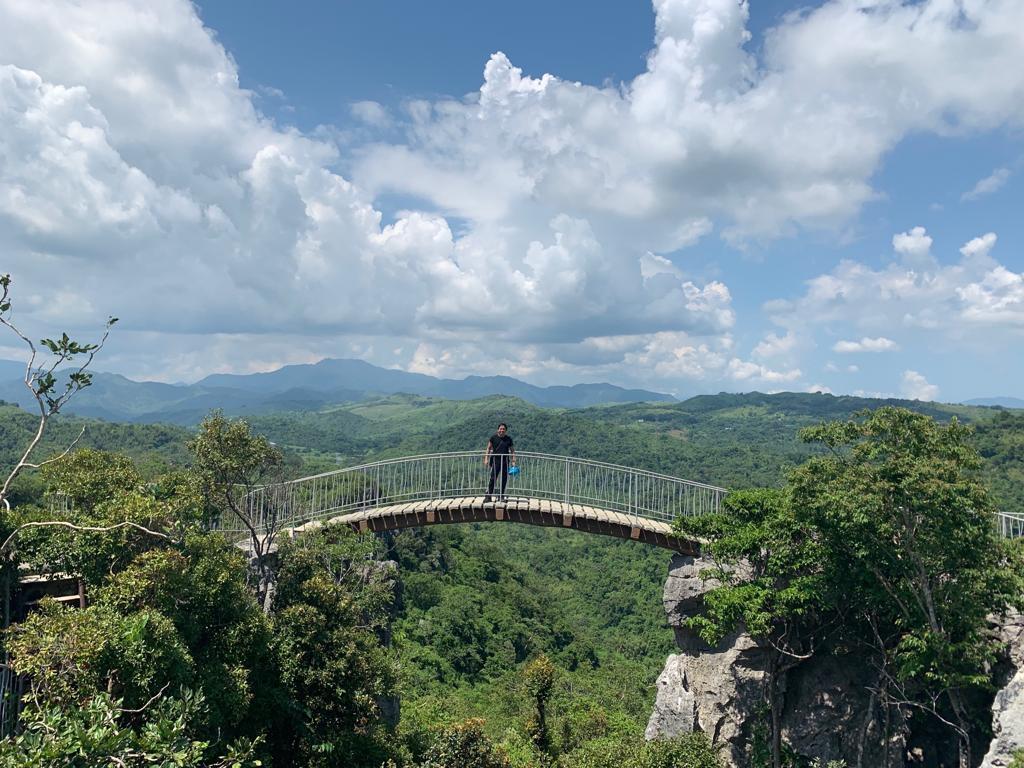 Masungi Georeserve bridge