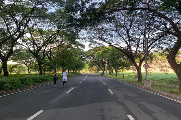 Car-free Sunday mornings, Filinvest Alabang