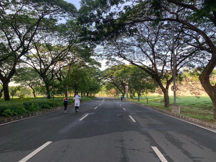Car-free Sunday mornings, Filinvest Alabang