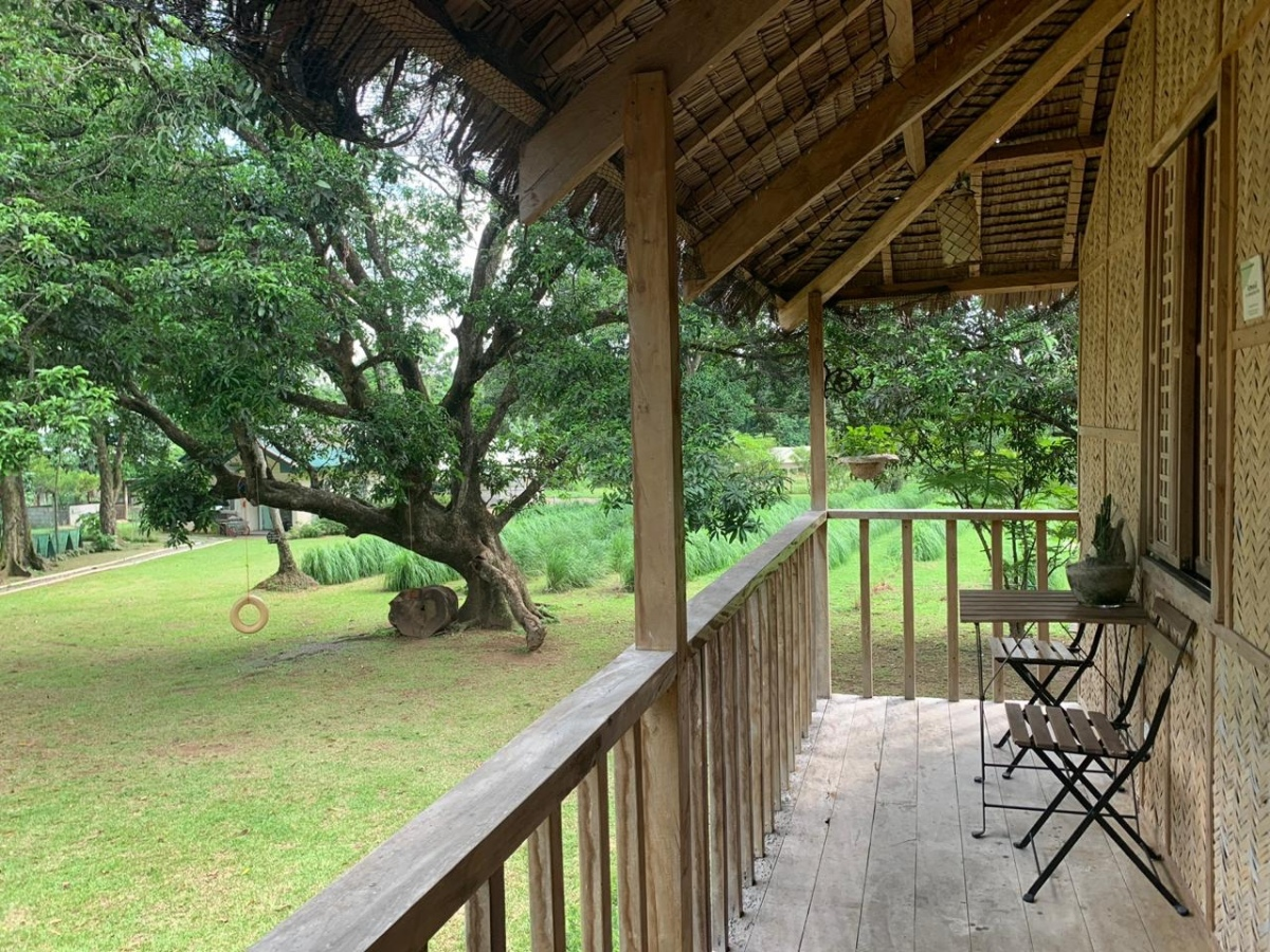 View from the kubo porch