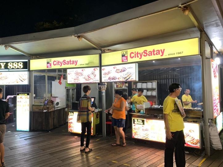 Satay stores at Satay By The Bay