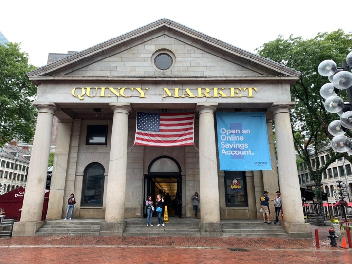 Boston's Quincy Market