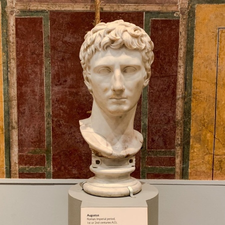 Emperor Augustus, from the Greek island of Paros