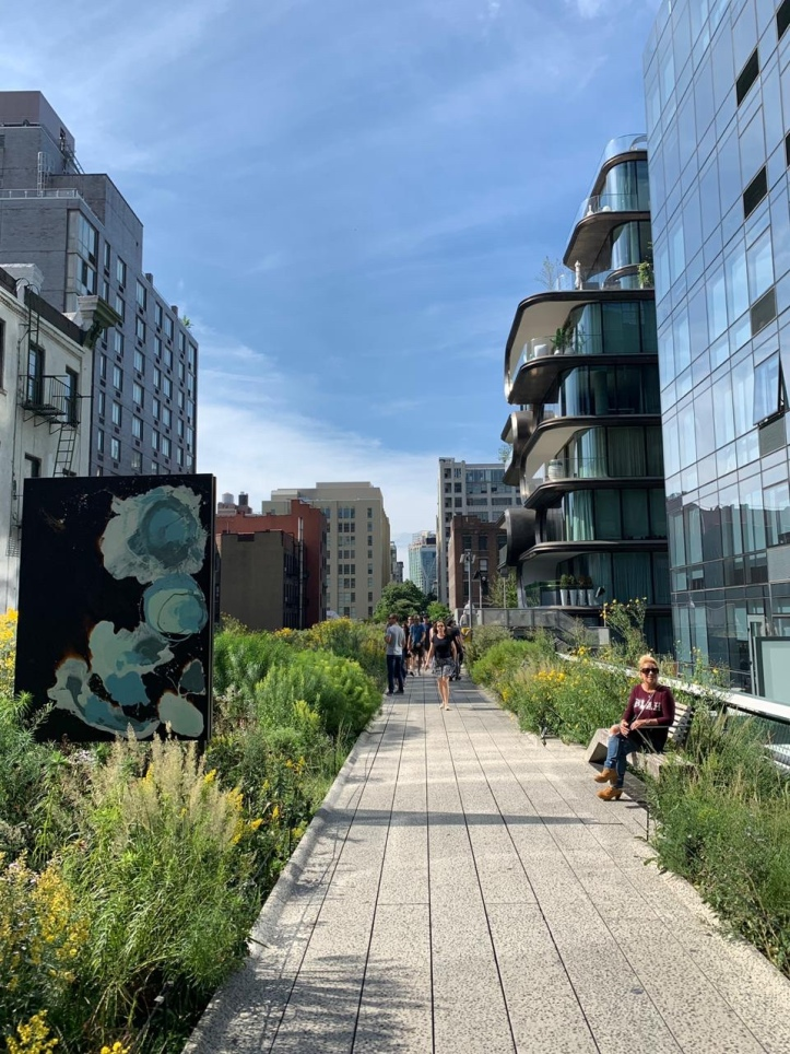 The High Line pathway
