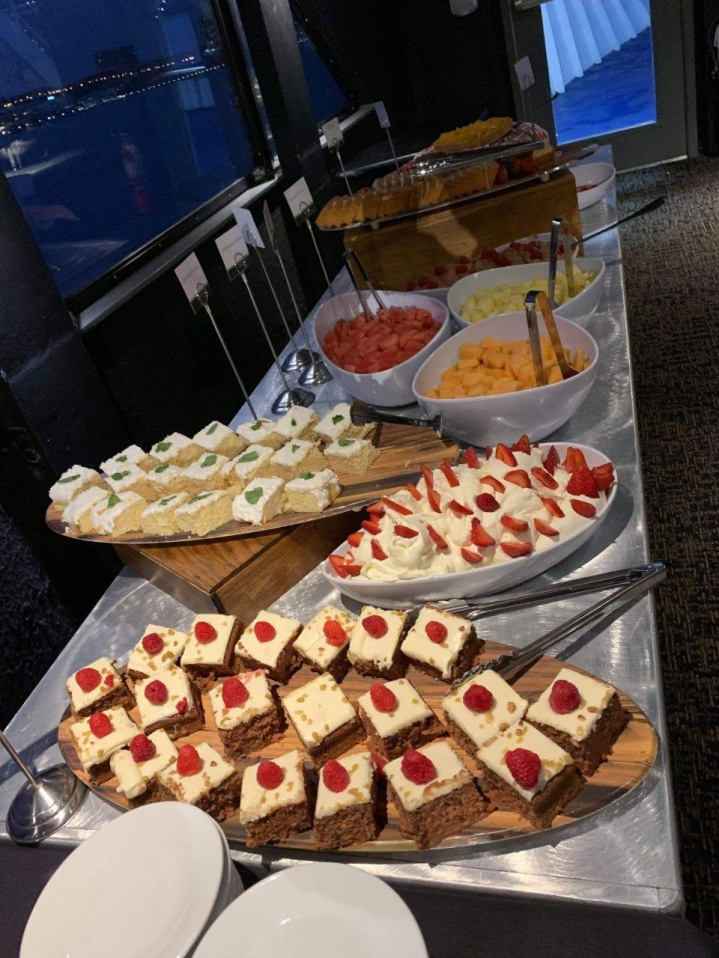 Dessert buffet at the Spirit Cruises