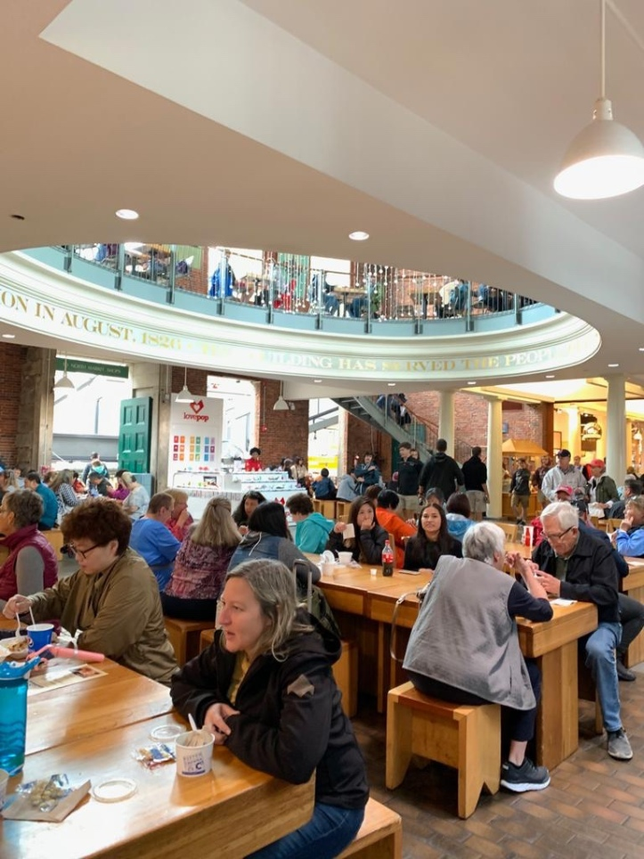 Food hall at Quincy Market