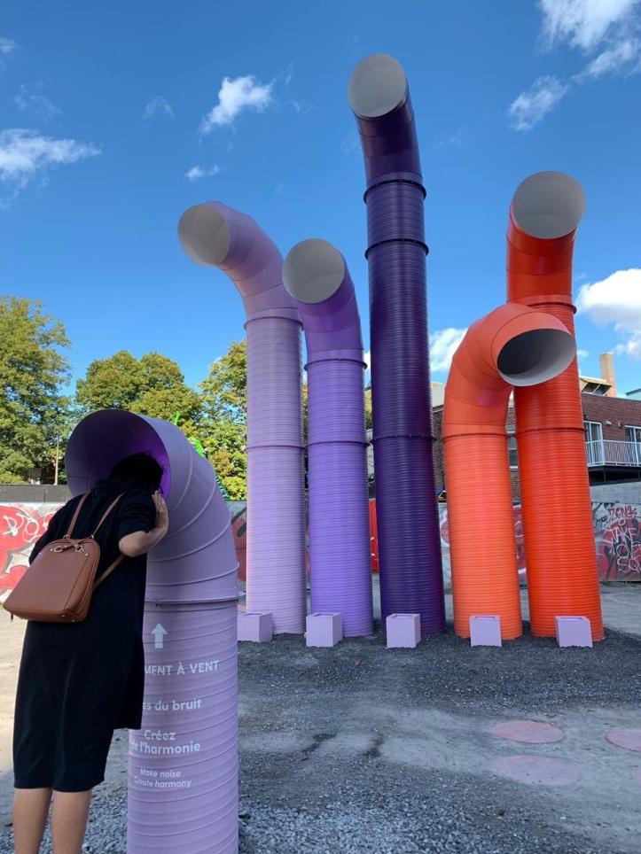 Montreal Sound Sculpture