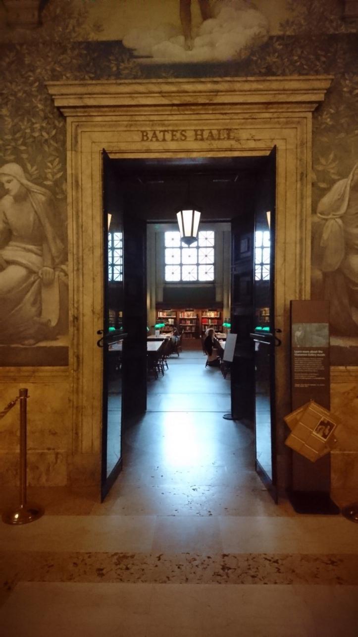 Boston Public Library Bates Hall